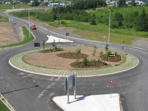 North roundabout 2