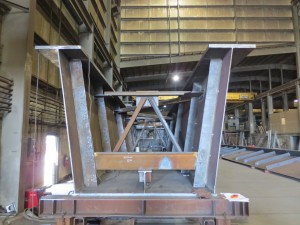 Photo of bridge girder